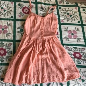 Divided by H & M Peach Coral Sun Dress